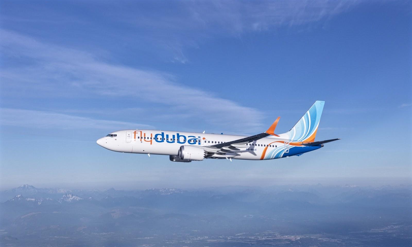 FlyDubai Boeing 737 MAX 9 Joy Flight Photo Shoot