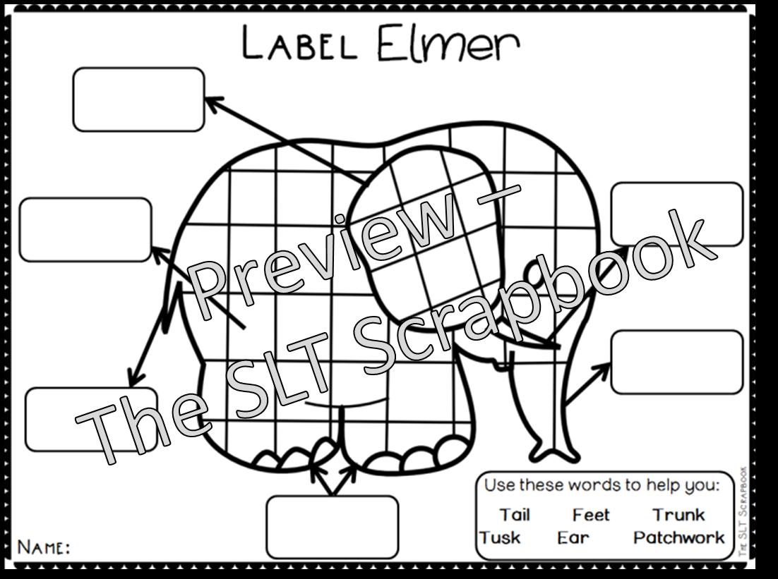 elmer activities related keywords elmer activities long. Black Bedroom Furniture Sets. Home Design Ideas