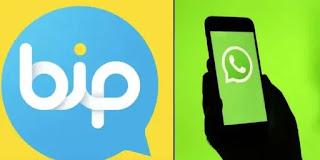 تطبيق بيب بيب بديل الواتس اب الجديد bip apk messenger