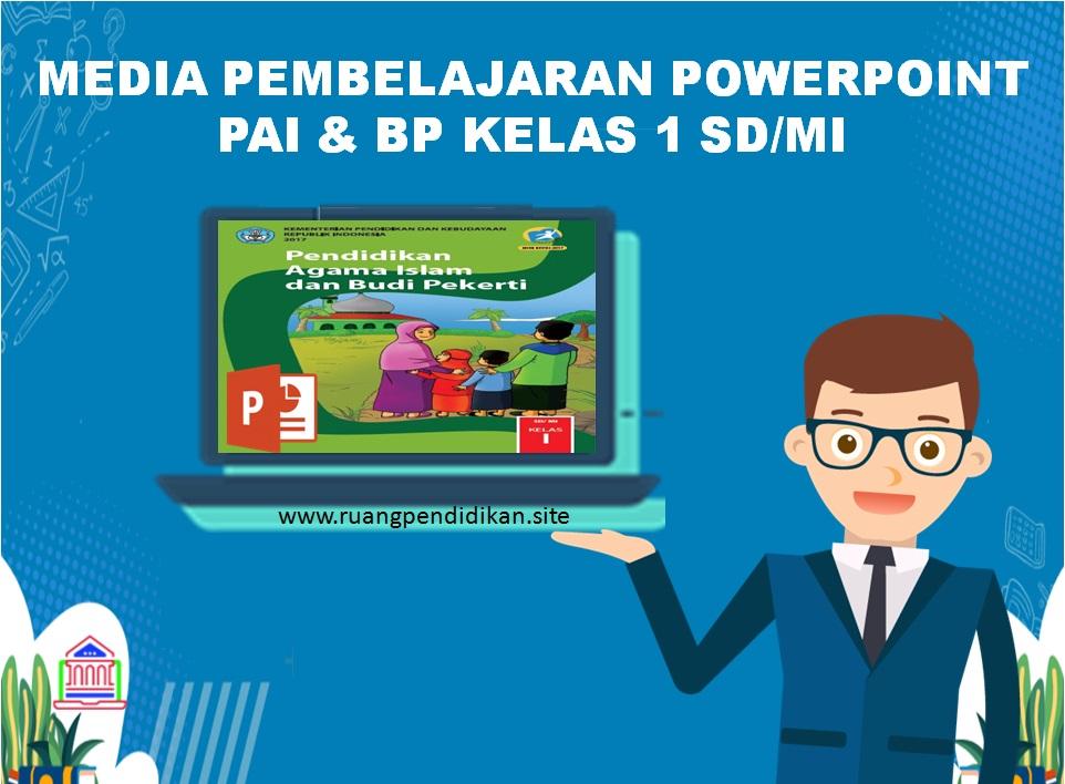 Media Pembelajaran Powerpoint Pai Dan Bp Kelas 1 Sd Mi Kurikulum 2013 Semester 1 Dan 2 Ruang Pendidikan
