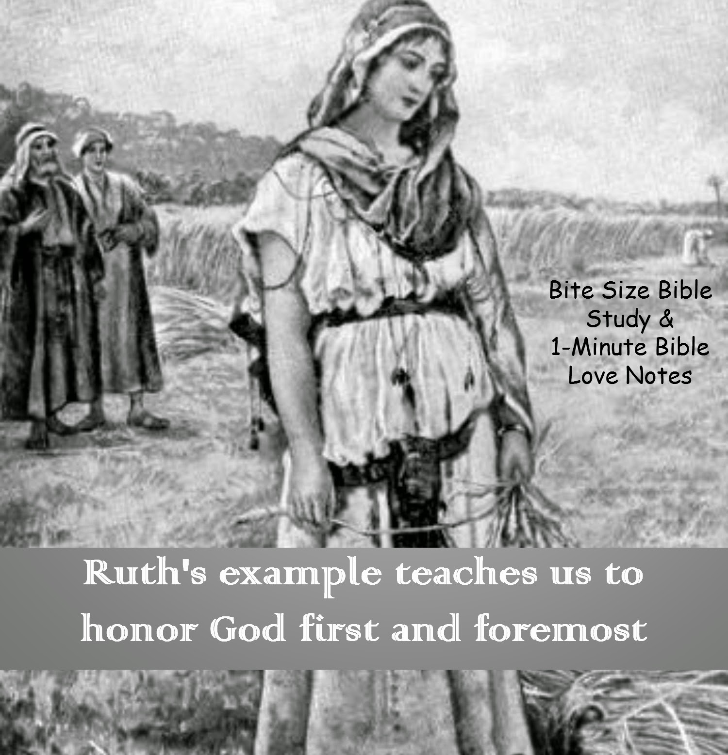 Ruth persevered, Ruth was humble