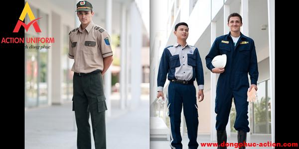 Mẫu bảo hộ lao động đồng phục