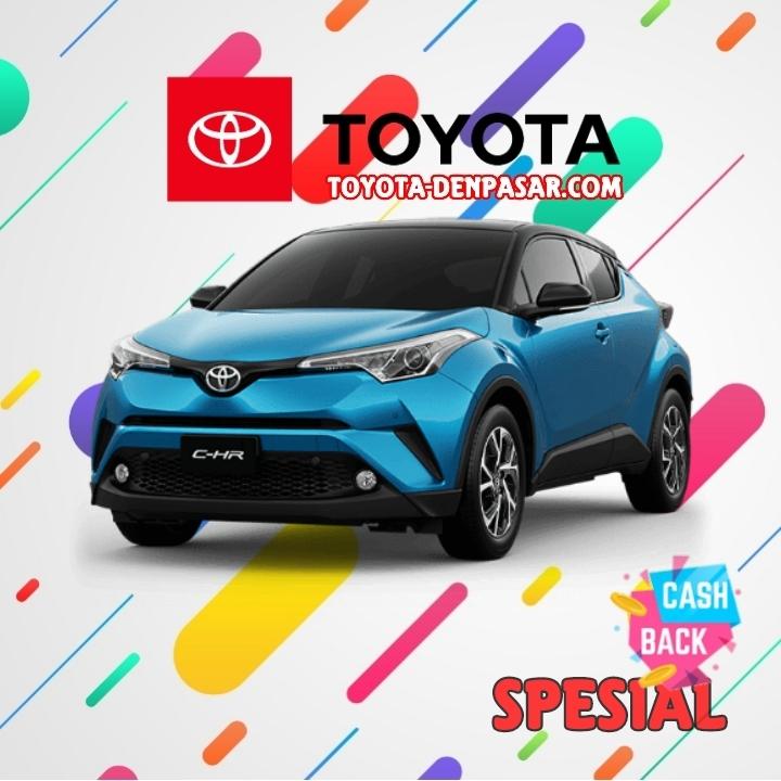 Toyota Denpasar - Lihat Spesifikasi All New C-HR, Harga Toyota C-HR Bali dan Promo Toyota C-HR Bali terbaik hari ini.