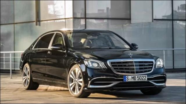 Mercedes S-class, dòng sedan hạng sang cỡ lớn của Mercedes