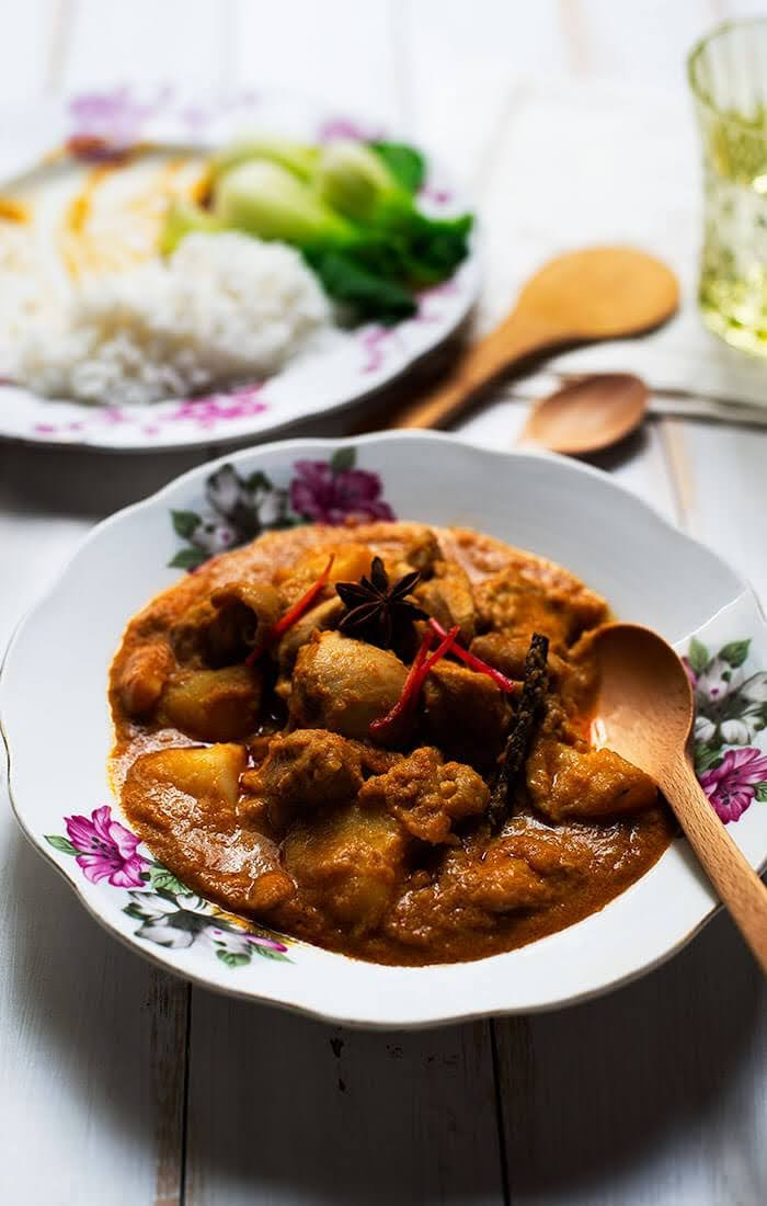malay curry chicken