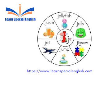 6 common English words that start with the letter J for kids