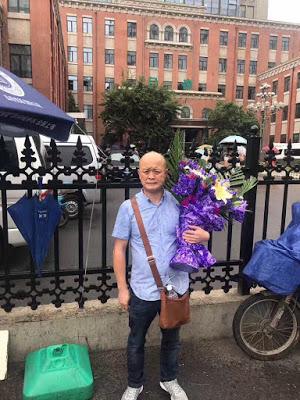 被拘留的维权人士卫小兵(网名:十三亿)又被逼迁