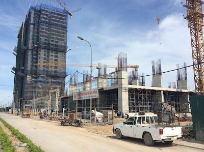 Cập nhật tiến độ xây dựng dự án Lạc Hồng Lotus - N01 T5
