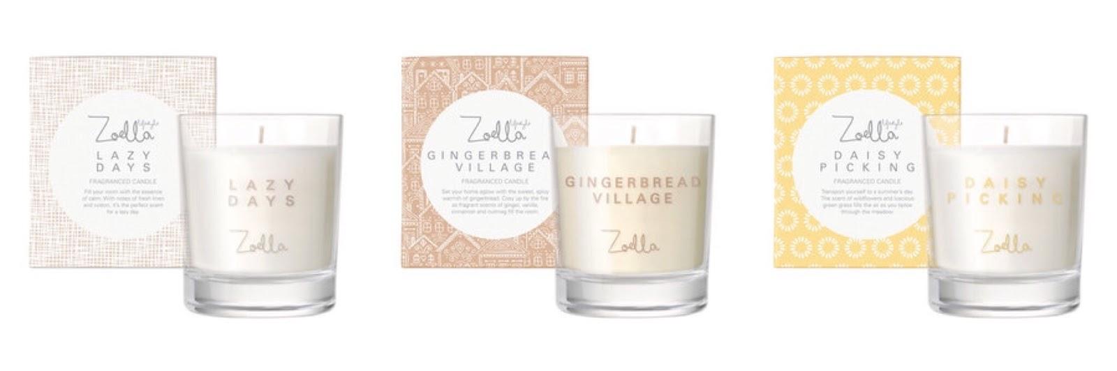 Zoella Candles