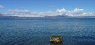 Lago Ohrid, Macedonia.