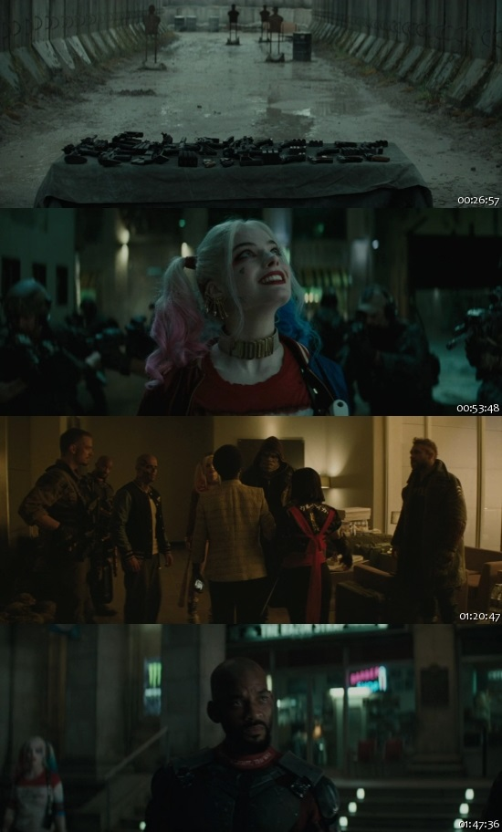 Suicide Squad 2016 English Extended 720p BRRip ESubs 1.2GB Desirehub