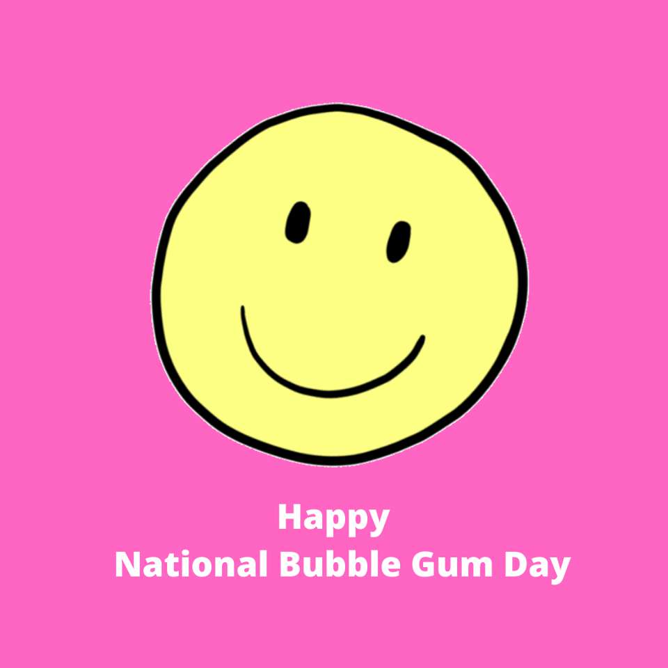National Bubble Gum Day Wishes Unique Image