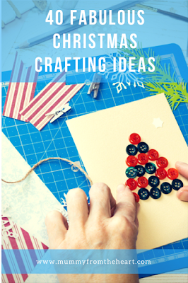 40 ideas of great Christmas craft activities that you can do with your kids. Great variety and no massive skills required