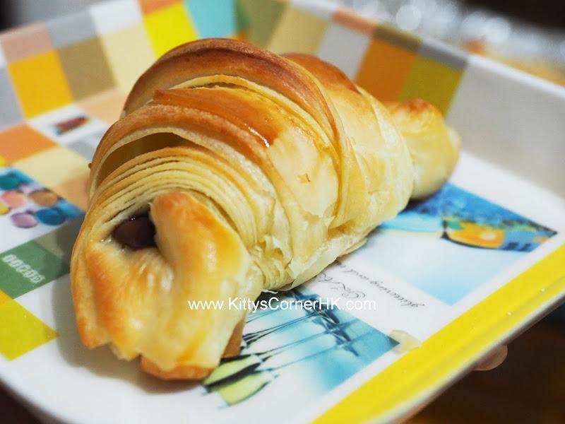 Choco Croissant DIY recipe 巧克力牛角 自家烘焙食譜