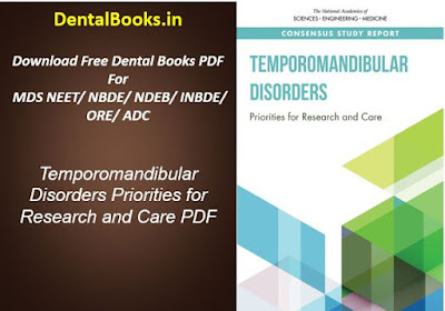 Temporomandibular Disorders Priorities for Research and Care PDF
