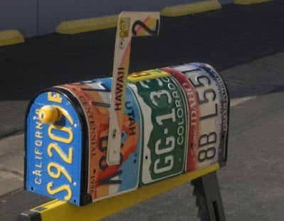 Ideias com Placas de Carro na Decoração