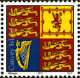 Canvey Local Post QEII Royal Standard Stamp