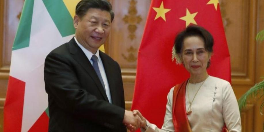 Xi Jinping, Aung San Suu Kyi