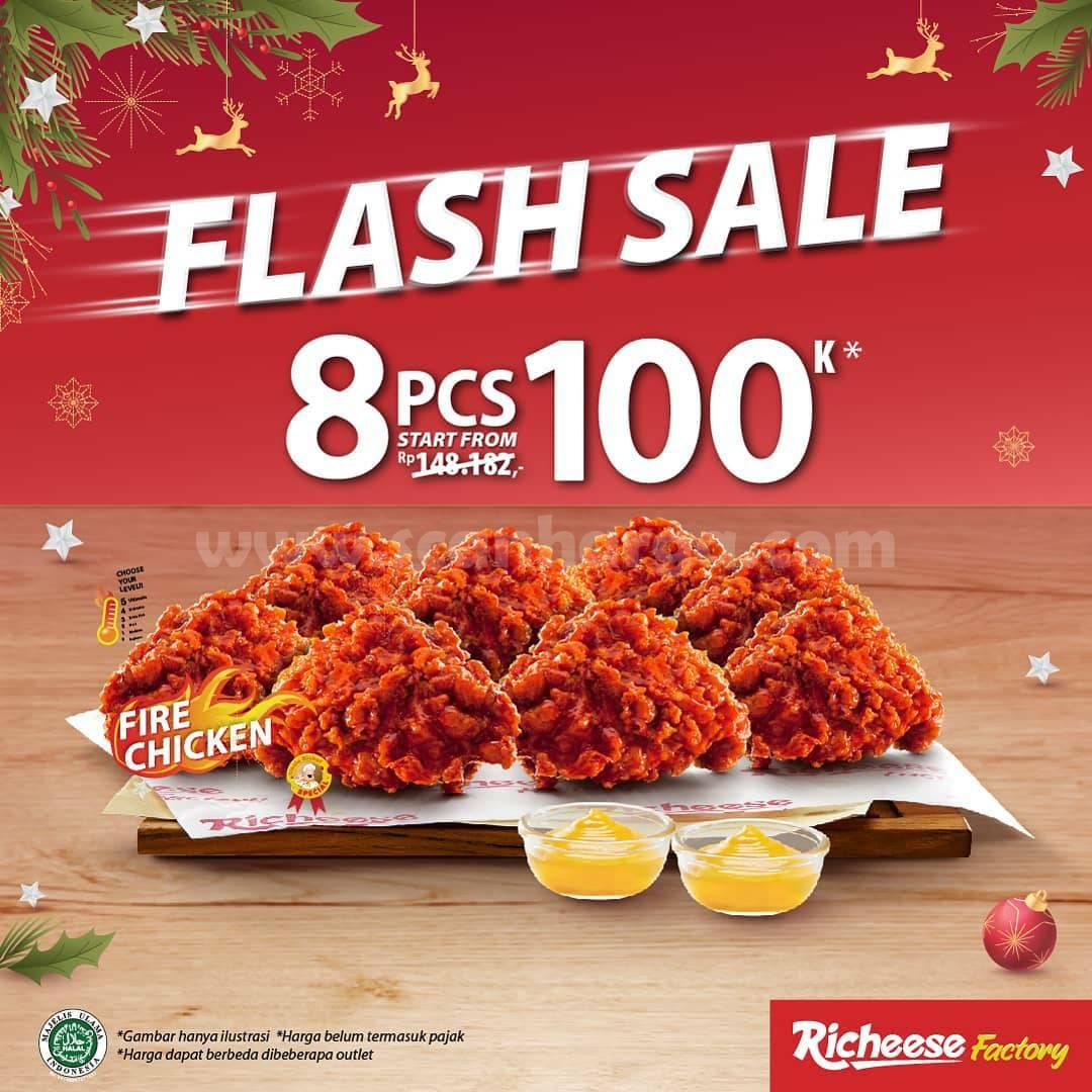 Richeese Factori Promo Flash Sale 8 For 100K 25 - 27 Desember 2020