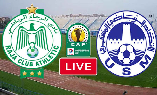 Match Raja Casablanca VS US Monastir Live Stream