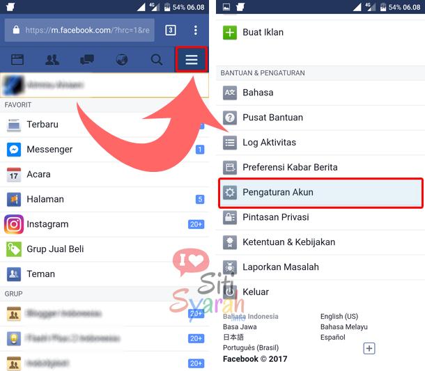 cara berhenti sms facebook
