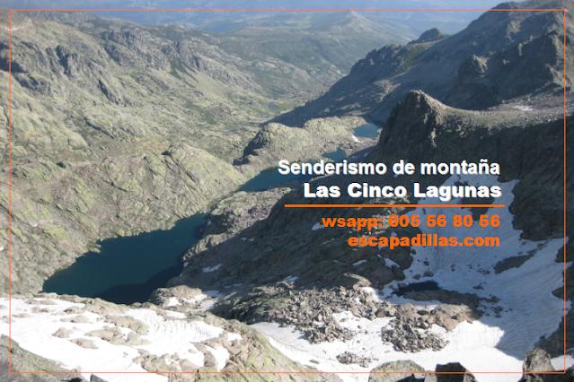Las Cinco Lagunas con - escapadillas.com