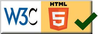 Icono w3c y HTML5