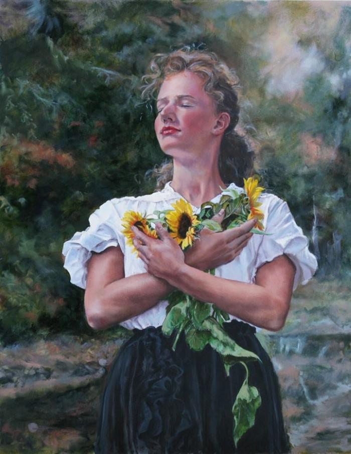 Американский художник. Mary Jane Q Cross 3
