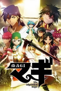 Anime Magi: The Labyrinth of Magic Legendado