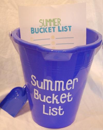 Scrappin My Stress Away Summer Bucket List