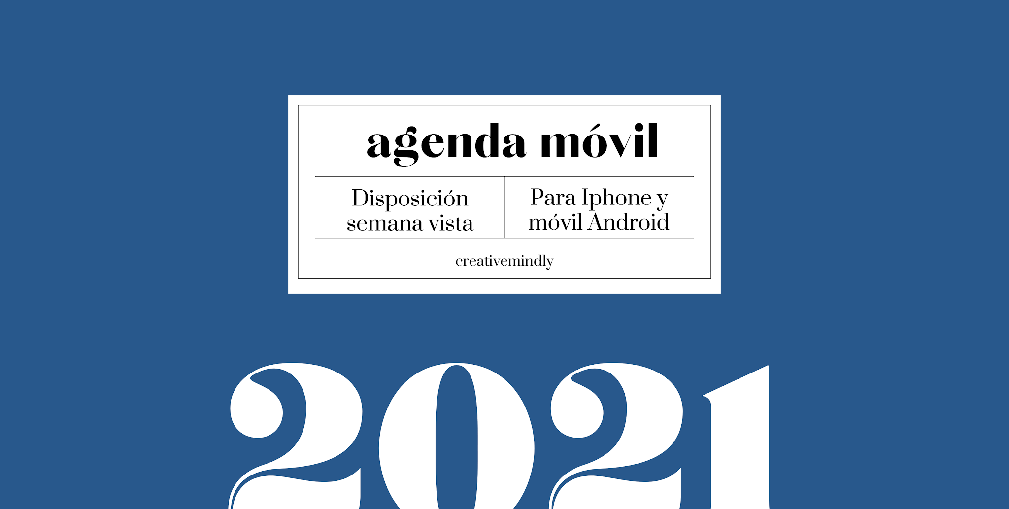 agenda movil iphone 2021