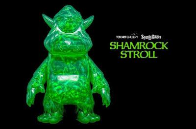 Shamrock Stroll Vinyl Figure by Spanky Stokes x Toy Art Gallery