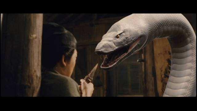 The Sorcerer and the White Snake 2011 DVDR Menu Full Español Latino Descargar