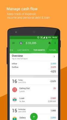 تطبيق Money Lover PRO لإدارة نفقاتك بسهولة على الأندرويد مدفوع مجاناً