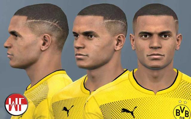 Manuel Akanji (Borussia Dortmund) Face PES 2017
