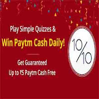 play and win paytm cash daily