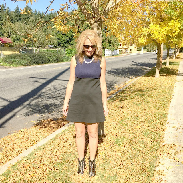 bcbg fabulous fall frock