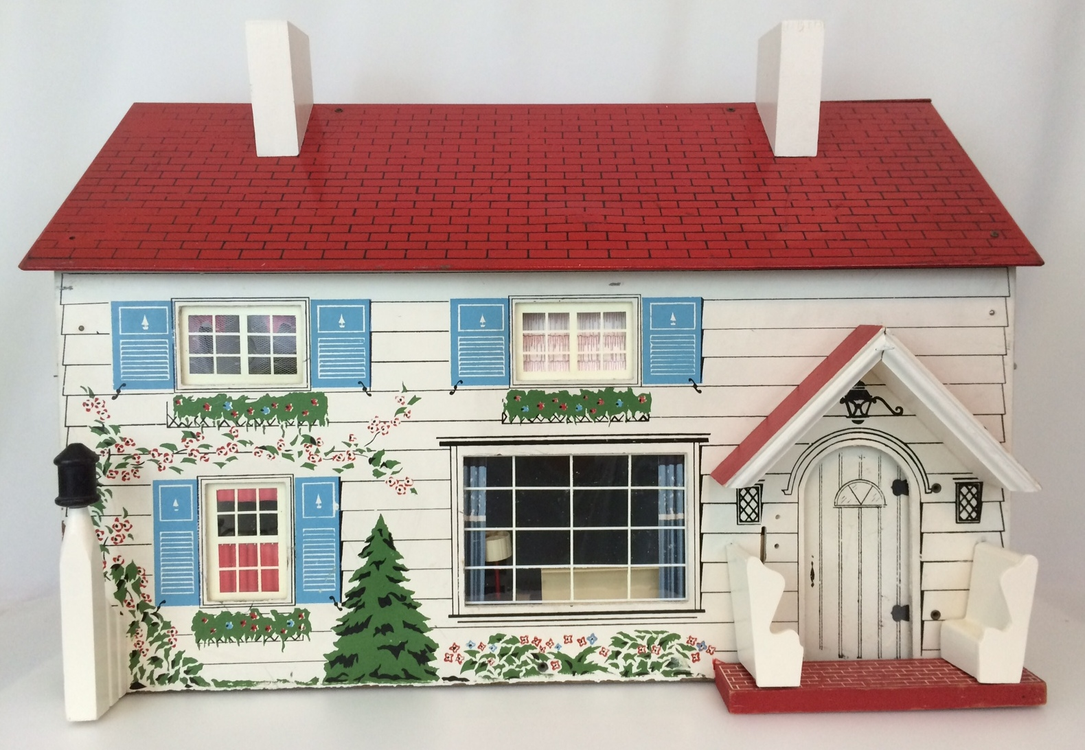 My Vintage Dollhouses Ardee Plastic Dollhouse Furniture From 1946