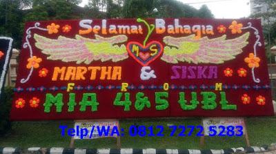 Pusat Bunga Papan Di Lampung 081272725283