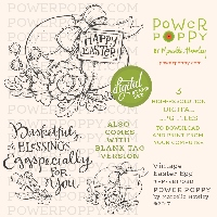 Power Poppy Vintage Easter Egg