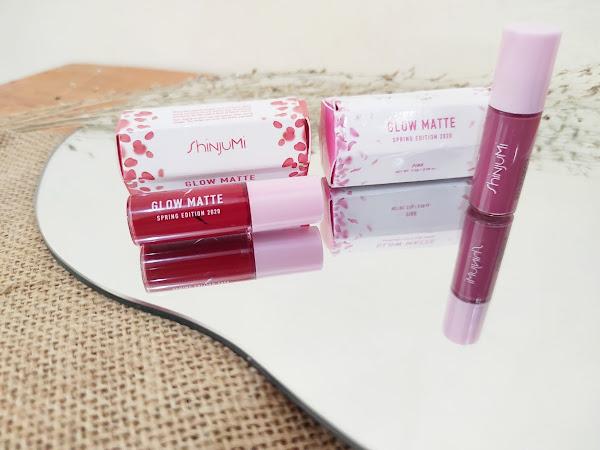 Review ShinjuMi Glow Matte Tulip, dan Azalea