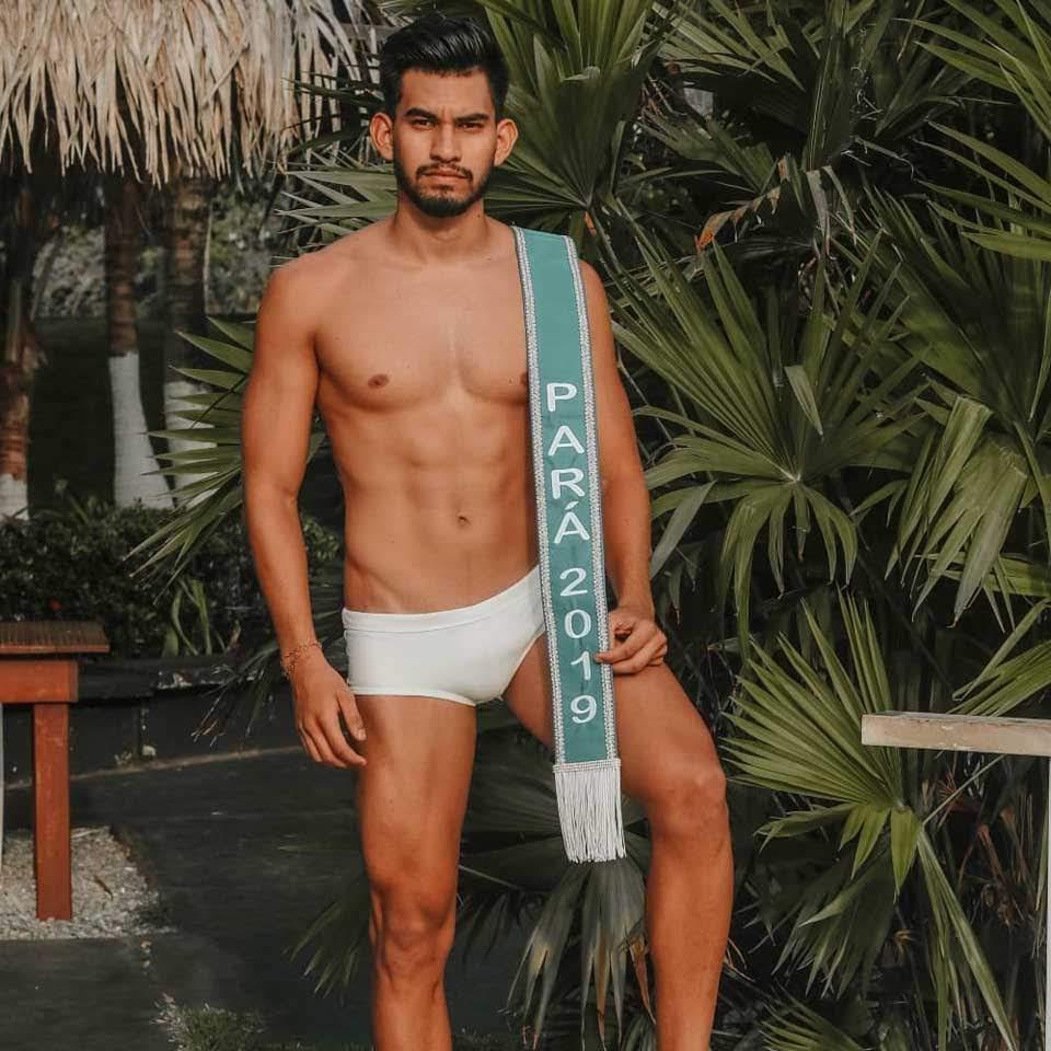Mister Model Nacional Pará 2019 - Henrique Bastos. Foto: Alex Leão