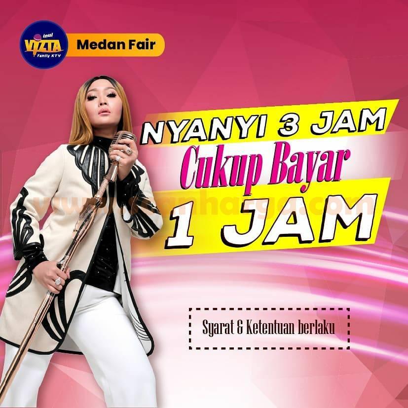 Promo Inul Vizta Plaza Medan Fair - NYANYI 3 JAM BAYAR CUMA 1 JAM