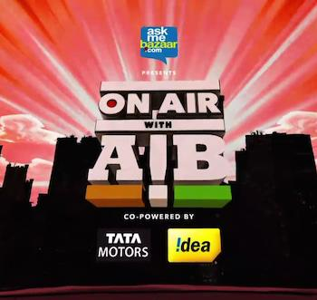 On Air With AIB Episode 02 Aag Hindi 720p HDRip x264 450mb