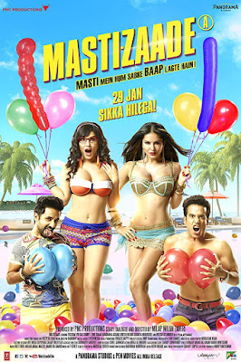 Mastizaade 2016 Hindi 720p HDRip 1.1GB
