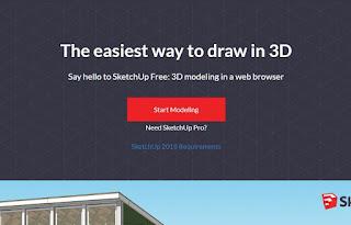 Review & Mencoba SketchUp Free Online
