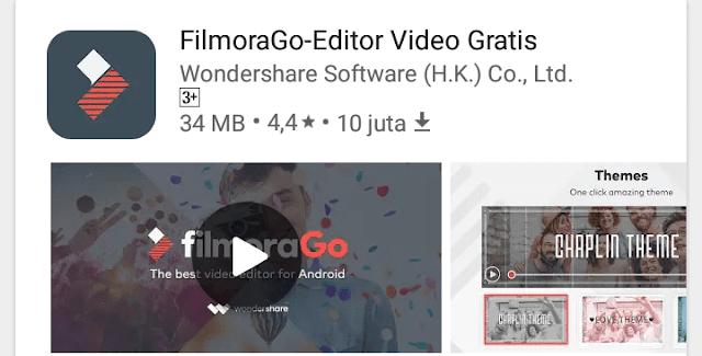 film mora, aplikasi edit video terbaik untuk android