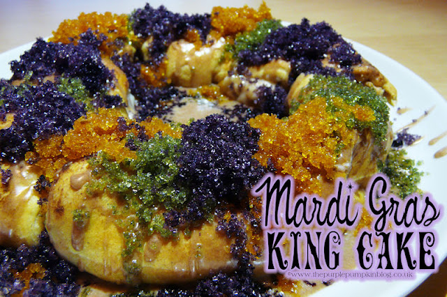 Mardi Gras King Cake | The Purple Pumpkin Blog