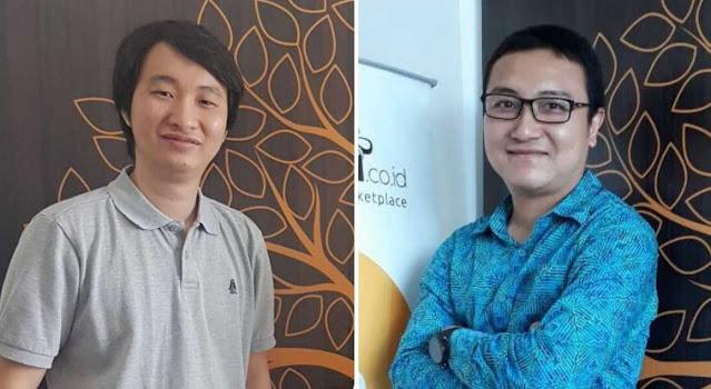 Foto Dua Pendiri Indodax