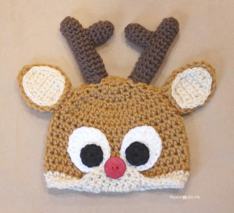 Crochet Hat Keychain Pattern
